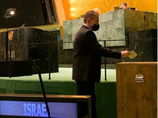השגריר גלעד ארדן, צילום: משלחת ישראל לאום
