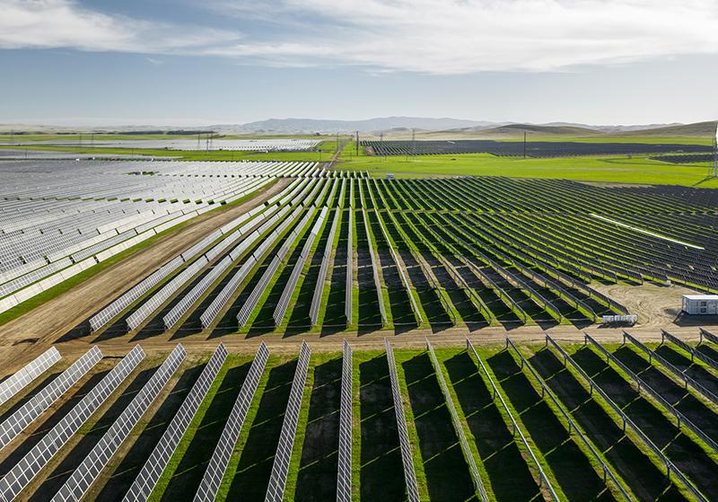 Solar project of Enlight in USA, קרדיט: קלינרה