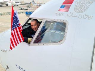 הסכמי השלום || טיסת אל על LY555 מנתבג לרבאט, מרוקו המריאה