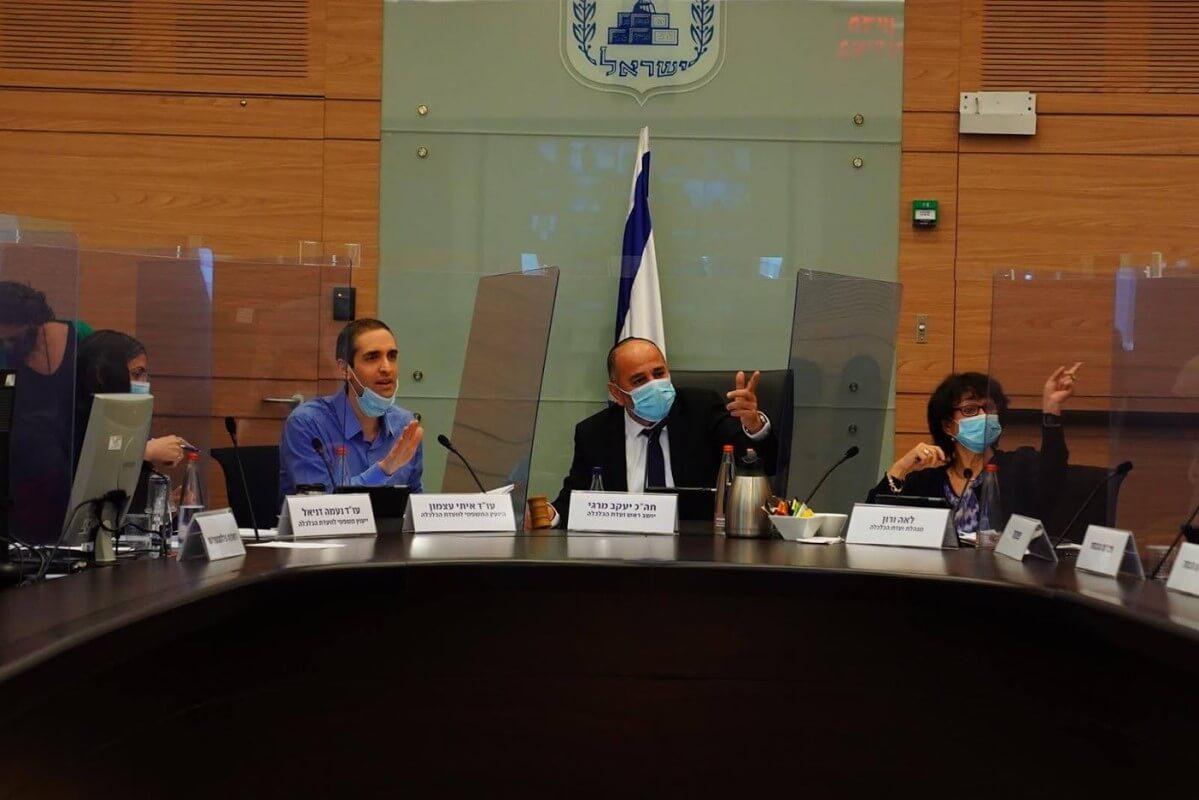משרד האנרגיה בוועדת הכלכלה || מעטים מצוברי הגז בישראל עומדים בתקן